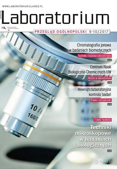 Laboratorium - Przegląd Ogólnopolski wydanie nr 9-10/2017