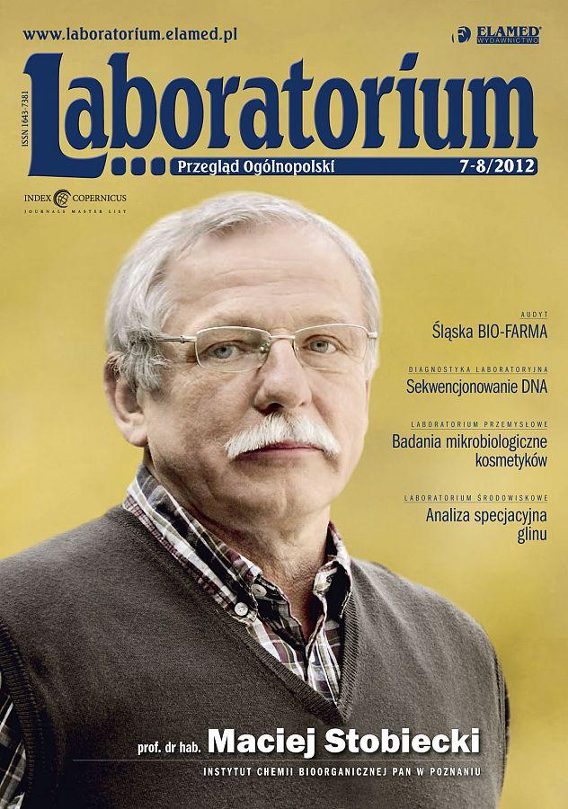Laboratorium - Przegląd Ogólnopolski wydanie nr 7-8/2012