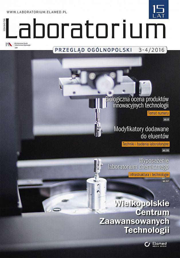 Laboratorium - Przegląd Ogólnopolski wydanie nr 3-4/2016