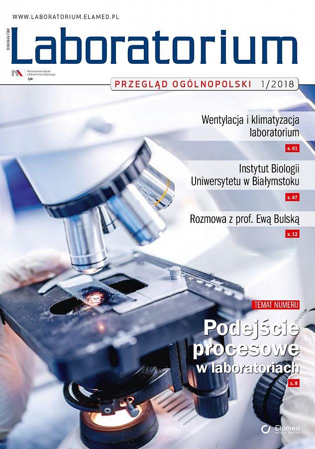 Laboratorium - Przegląd Ogólnopolski wydanie nr 1/2018