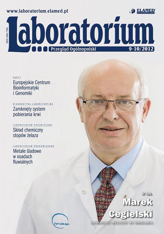 Laboratorium - Przegląd Ogólnopolski wydanie nr 9-10/2012